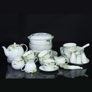 Bộ đồ ăn Sứ Xương Cao Cấp Fine Bone China - set12