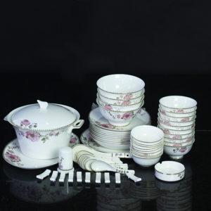Bộ đồ ăn Sứ Xương Cao Cấp Fine Bone China - set13