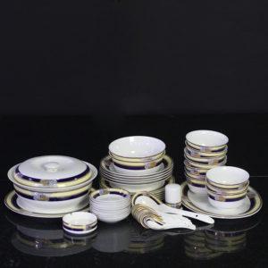 Bộ đồ ăn Sứ Xương Cao Cấp Fine Bone China - set16