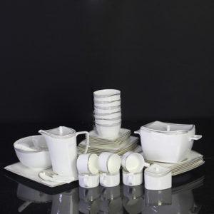 Bộ đồ ăn Sứ Xương Cao Cấp Fine Bone China - set18