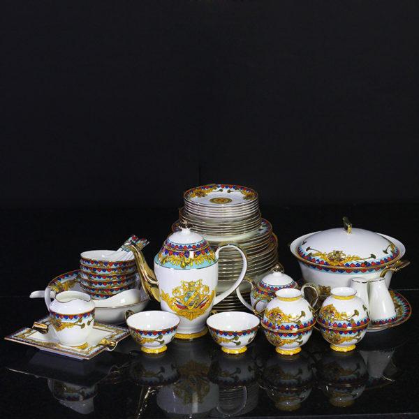 Bộ đồ ăn Sứ Xương Cao Cấp Fine Bone China - set20