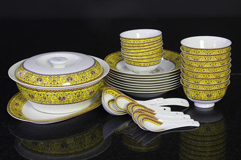 Bộ đồ ăn Sứ Xương cao cấp fine Bone China - set25