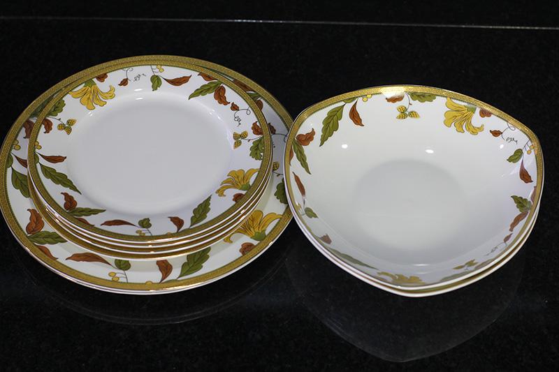 Bộ đồ ăn Sứ Xương cao cấp fine Bone China - set27