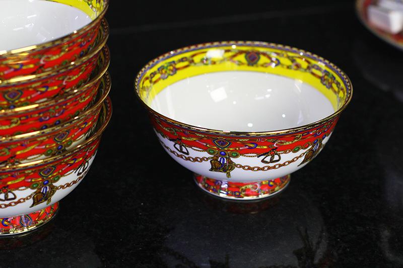 Bộ đồ ăn Sứ Xương cao cấp fine Bone China