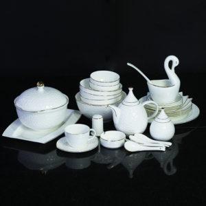 Bộ đồ ăn Sứ Xương Cao Cấp Fine Bone China - set3