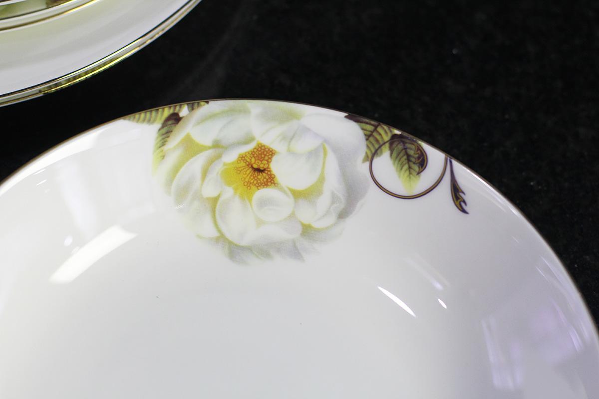 Bộ đồ ăn Sứ Xương Cao Cấp Fine Bone China - set38