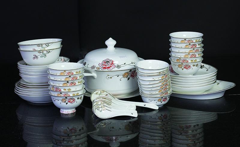 Bộ đồ ăn Sứ Xương Cao Cấp Fine Bone China - set4