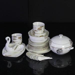 Bộ đồ ăn Sứ Xương Cao Cấp Fine Bone China - set41