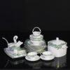 Bộ đồ ăn Sứ Xương Cao Cấp Fine Bone China - set42