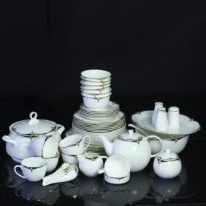 Bộ đồ ăn Sứ Xương Cao Cấp Fine Bone China - set5