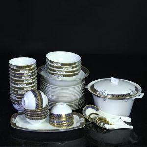 Bộ đồ ăn Sứ Xương Cao Cấp Fine Bone China - set6