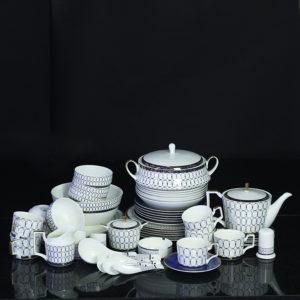 Bộ đồ ăn Sứ Xương Cao Cấp Fine Bone China - set8
